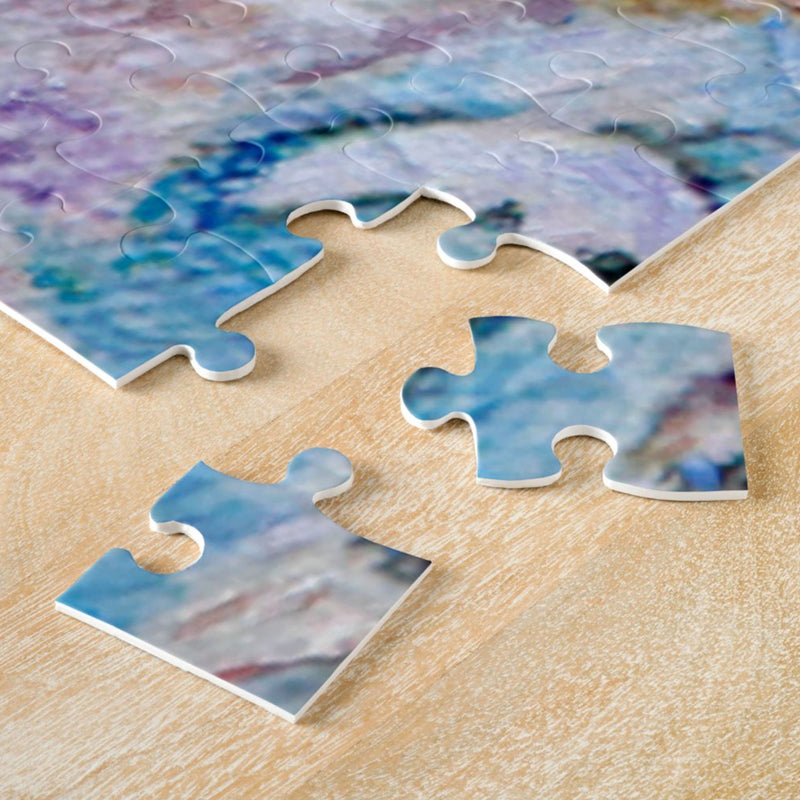 Beige Horse Jigsaw Puzzle