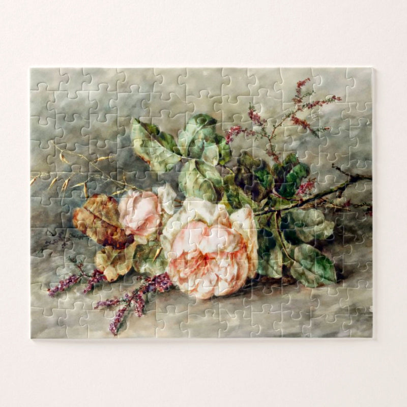 Floral Jigsaw Puzzle for Adults from 500 to over 1000 Pieces