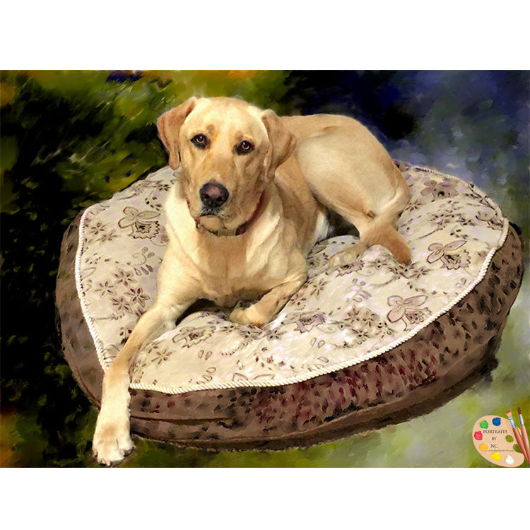 Labrador Pet Painting 363