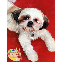 Shih Tzu Pet Painting 402