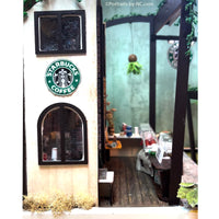 Outer wall starbucks diorama