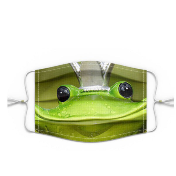 Premium Face Mask Smiling Frog