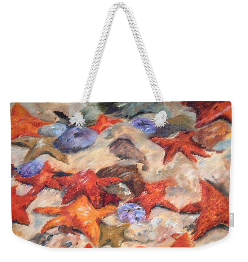 Starfish - Weekender Tote Bag - Portraits by NC