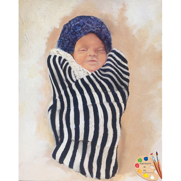 Stillborn Baby Portrait 474