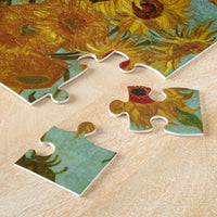 Vincent Van Gogh Twelve Sunflowers In A Vase Jigsaw Puzzle