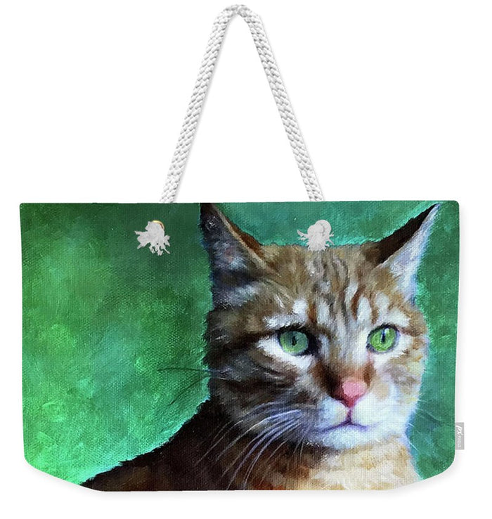 Tabby Cat - Weekender Tote Bag