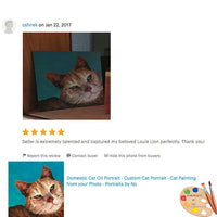 Review for Tabby Cat Portrait 550