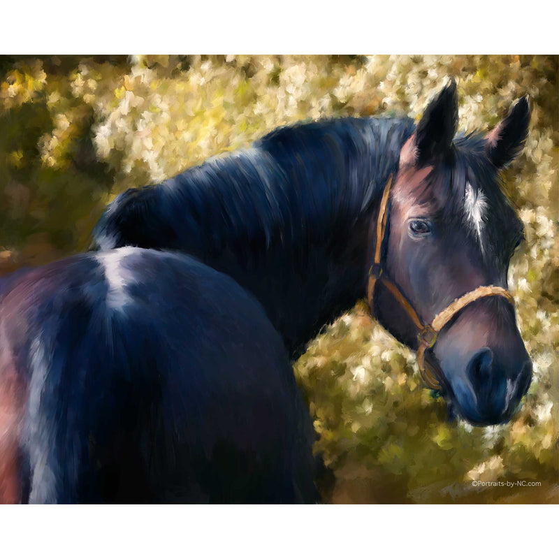 Tennessee Walker Horse Painting