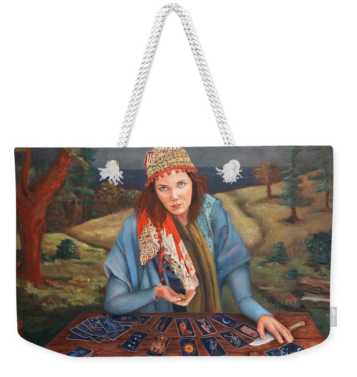 The Gypsy Fortune Teller - Weekender Tote Bag 138