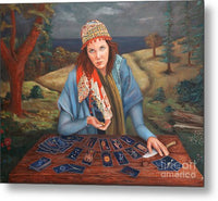 The Gypsy Fortune Teller - Metal Print 138