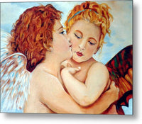 The Kiss Angels - Metal Print