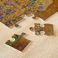 The Kiss by gustav Klimt Jigsaw Puzzle