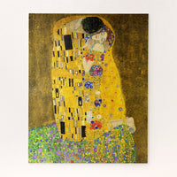 Gustav Klimt the Kiss Jigsaw Puzzle