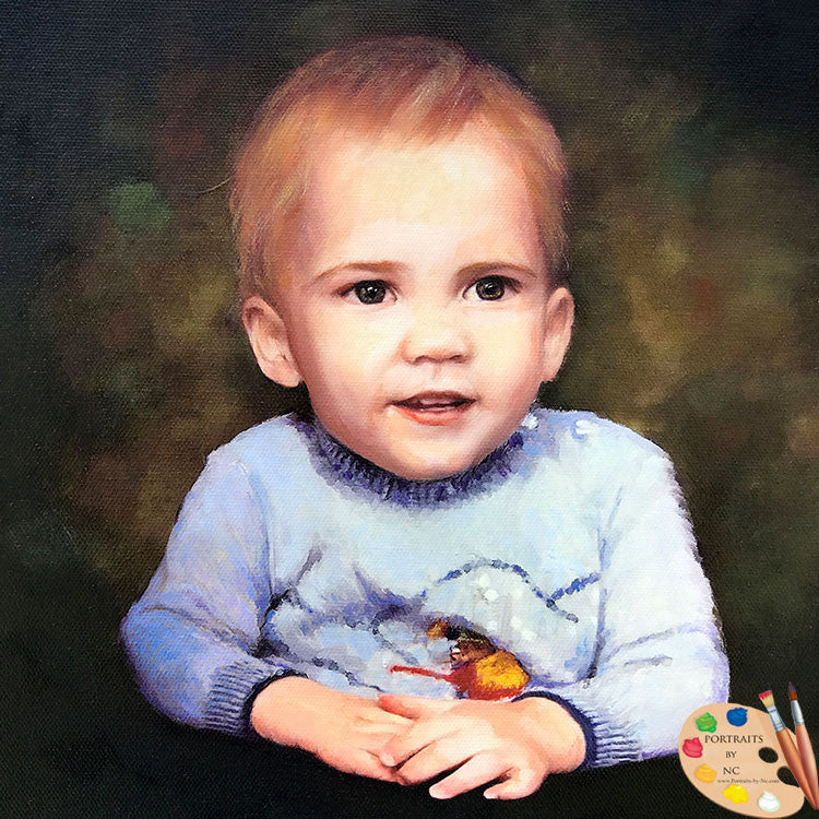 Toddler Boy Portrait 567