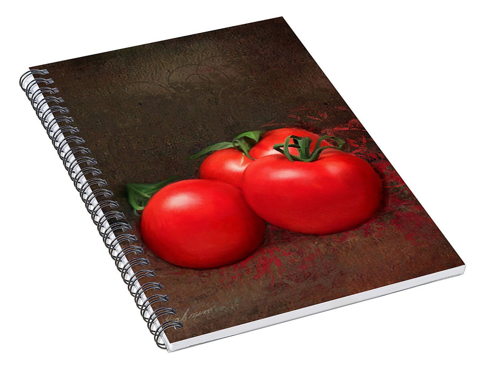 Tomato Trio - Spiral Notebook