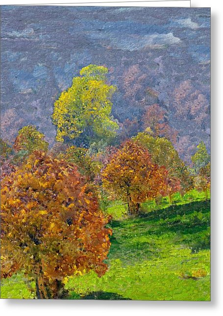 Valley Of The Trees - Greeting Card - Portraits by NC