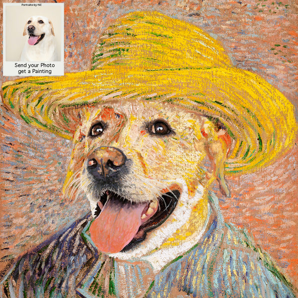PETS IN COSTUME - Van Gogh My Pet - Sun Hat Costume