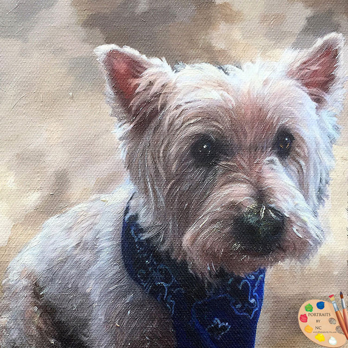 Westie Pet Portrait 430