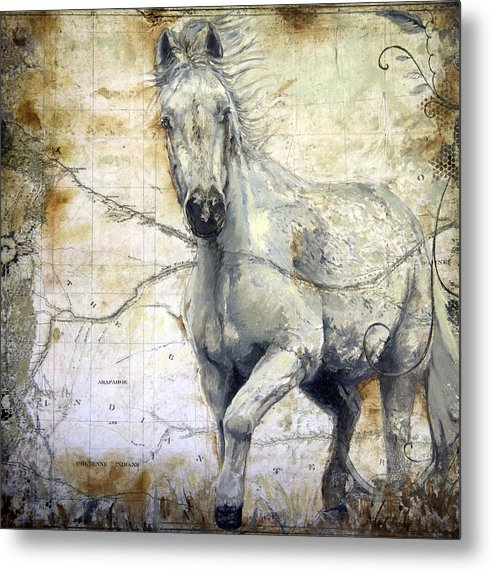 Whispers Across The Steppe - Metal Print - Portraits by NC