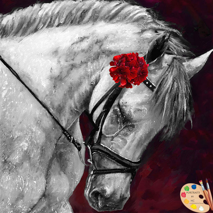 Horse Painting 433