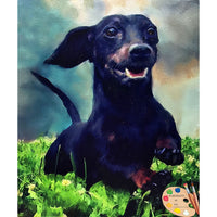 Wiener Pet Portrait 540