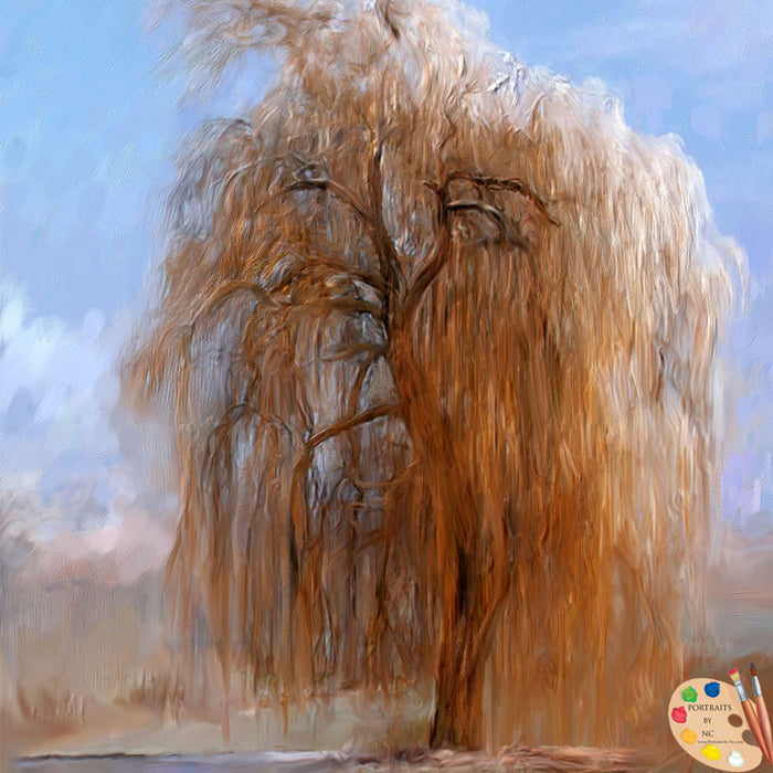 Willow Tree Painting 299