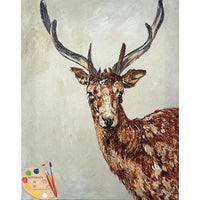 Wildlife Art Young Buck Print 209