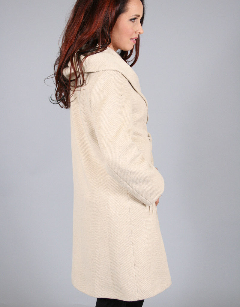 Beautiful Belted Wrap Coat