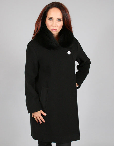 Modern Dress Coat-Black