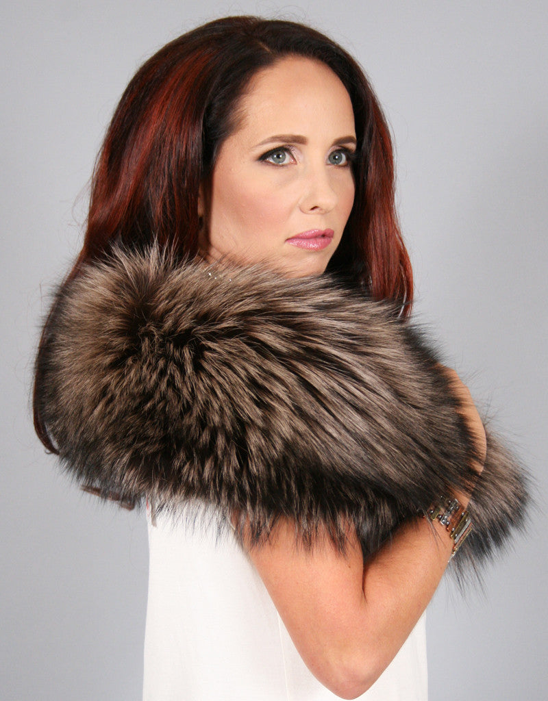 Lux Fur Collar-A