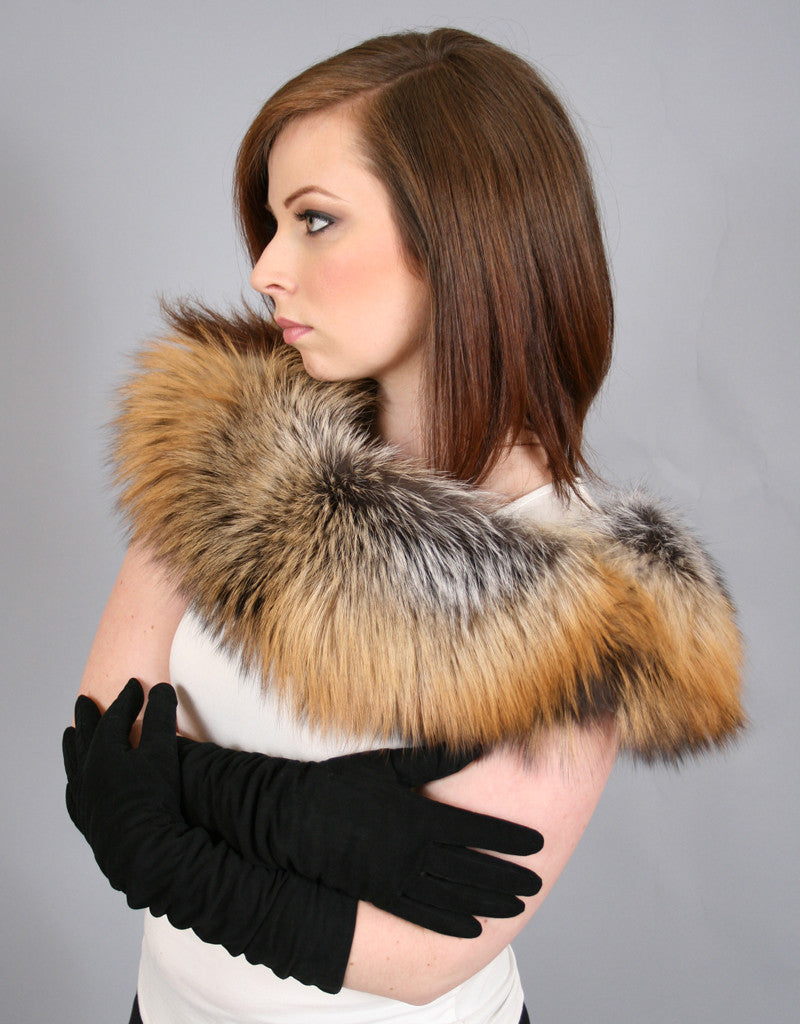 Lux Fur Collar-E