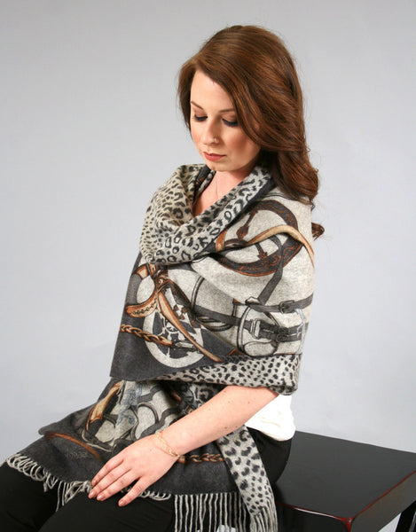 Printed Reversible Shawl-Chains
