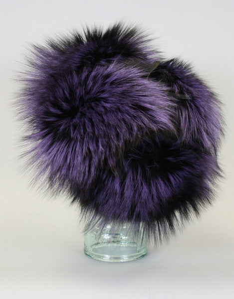 Fur RCMP Hat-Purple Dyed Silver