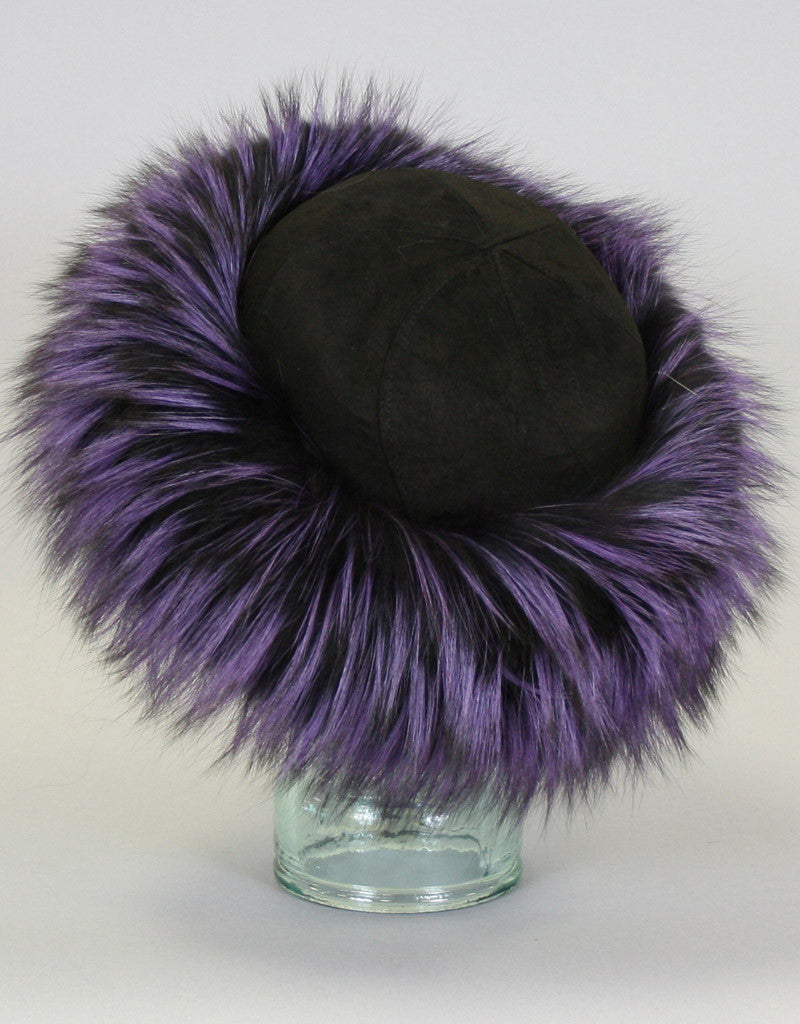 Fur Trim Hat-B