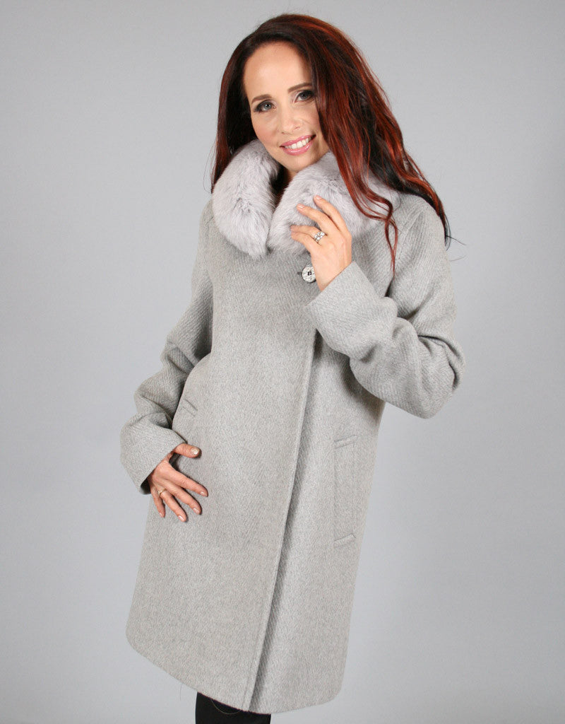 Modern Dress Coat-Grey
