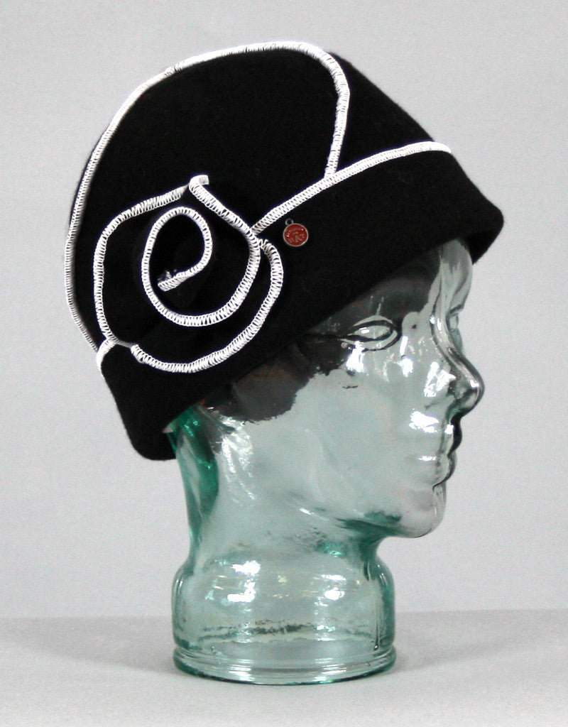 Rosette Cloche-Coffee