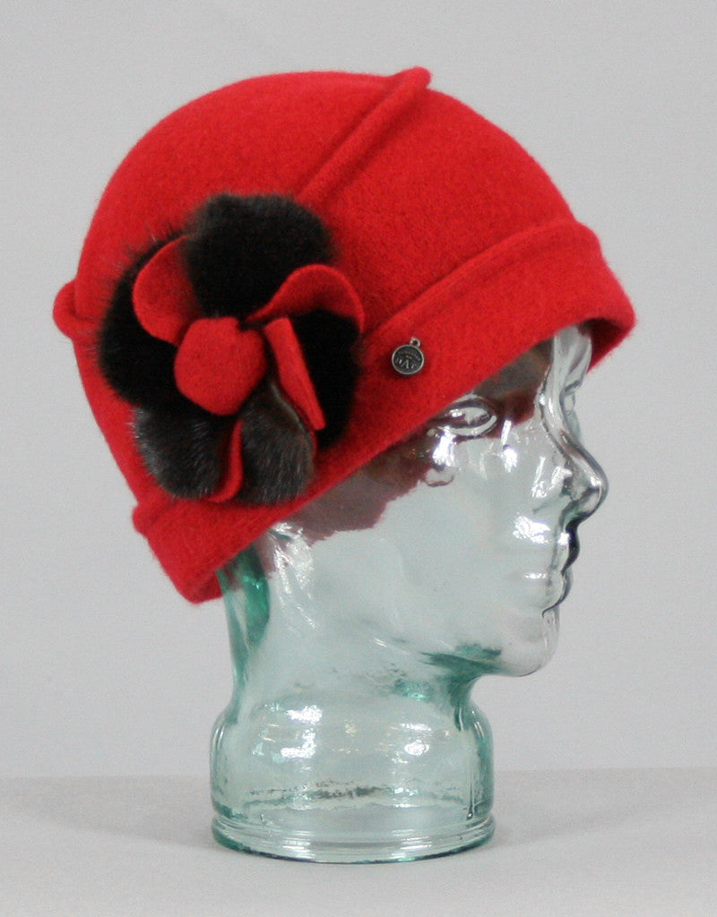 Flower  Cloche- Heather