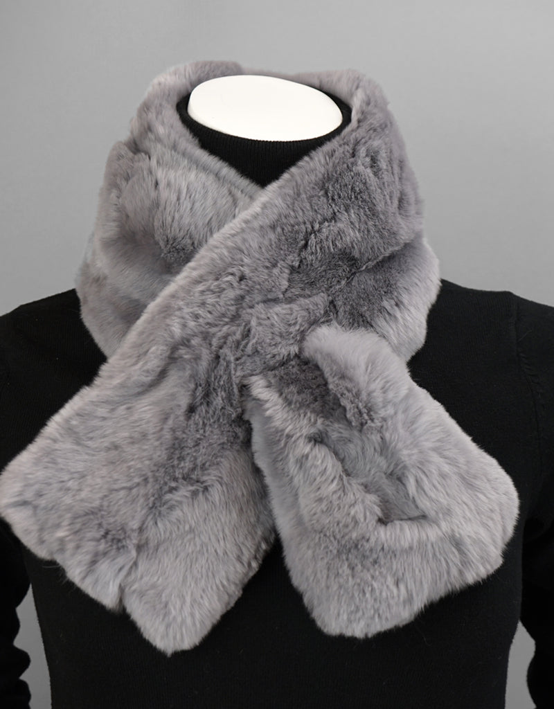 Soft Draw Rex Rabbit Scarf