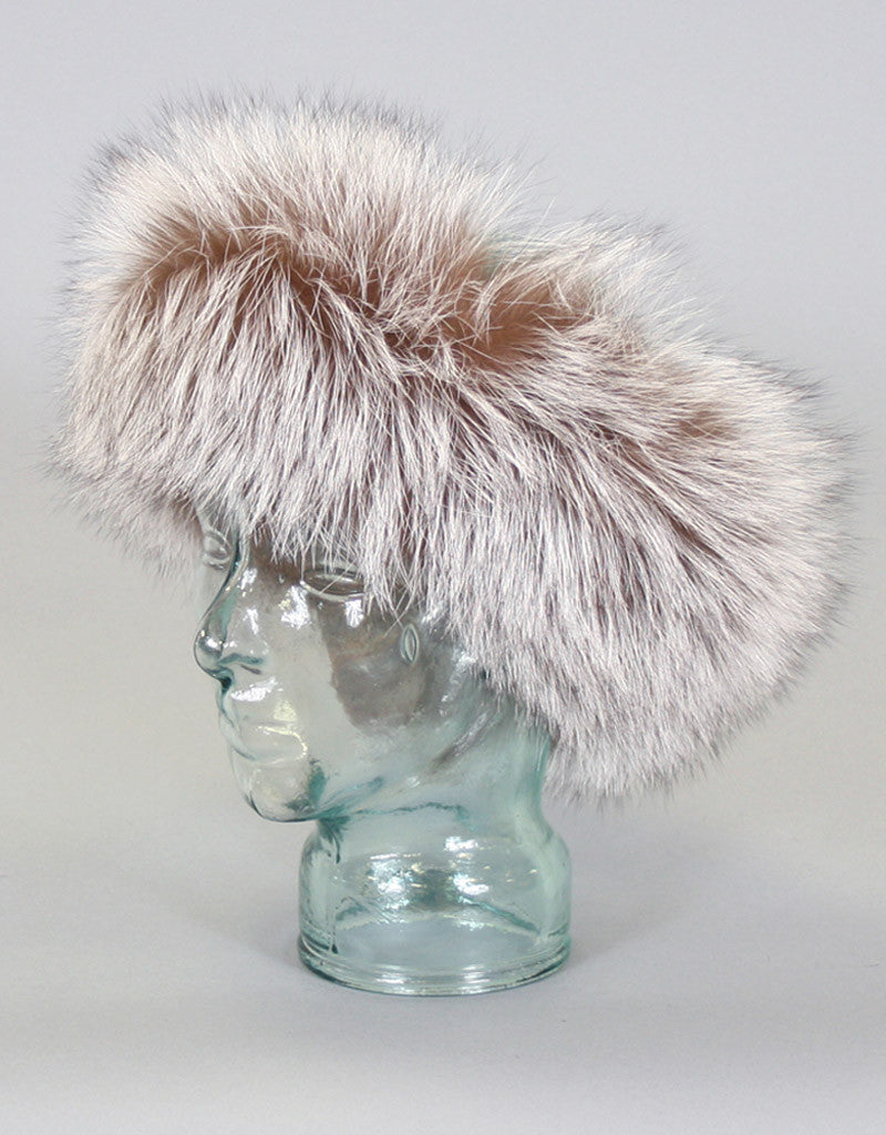 Wide Fur Headband-F