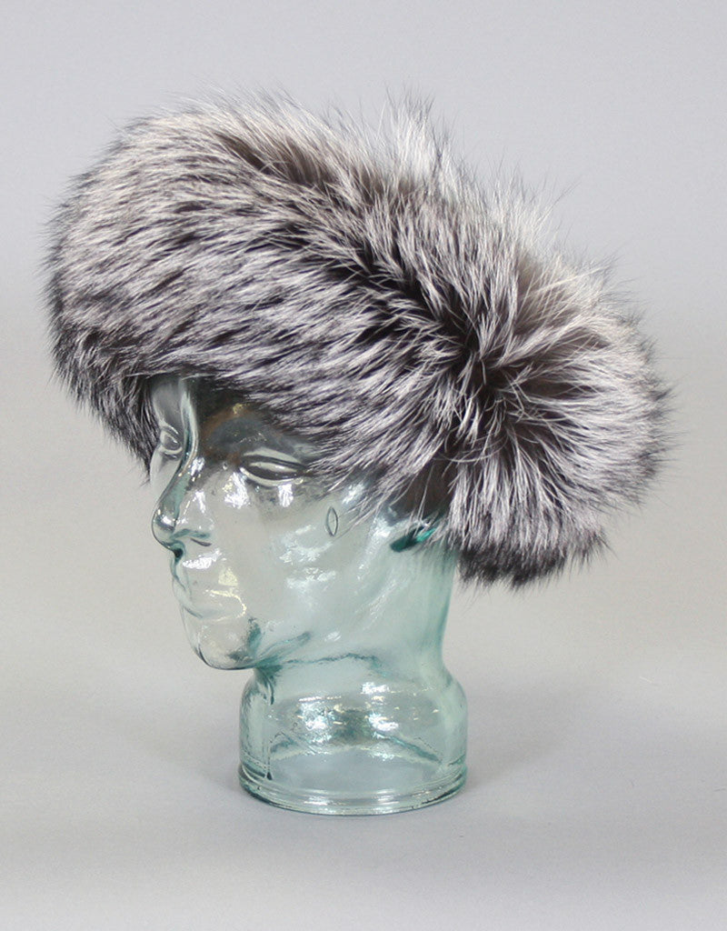 Wide Fur Headband-H