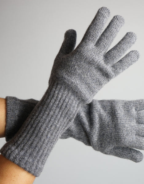 Cashmere Glove- Dark Grey