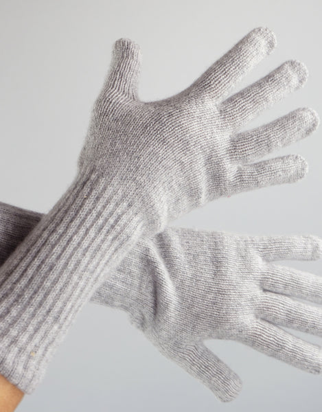 Cashmere Glove- Light Grey