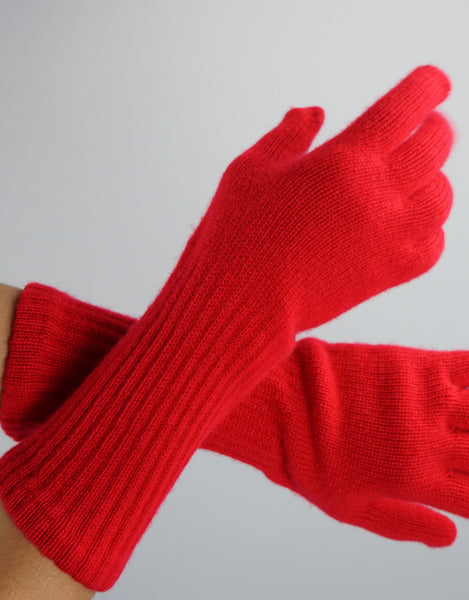 Cashmere Glove-Red