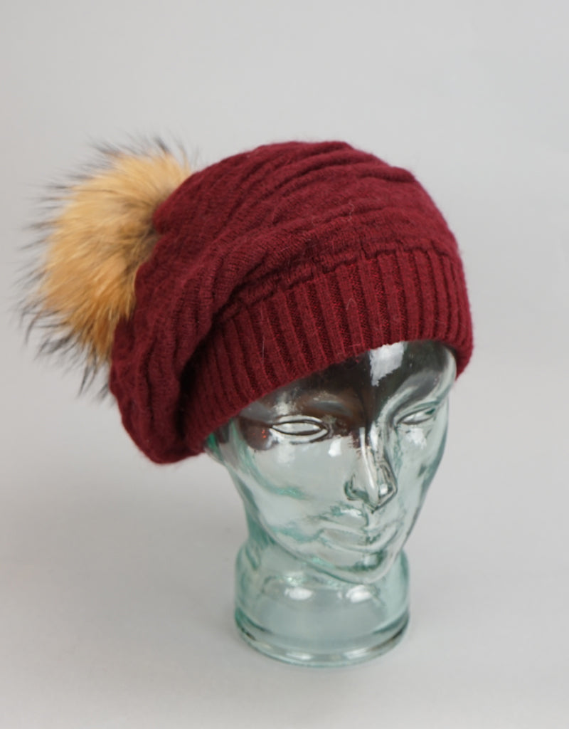 Rouched Slouch Tam-A