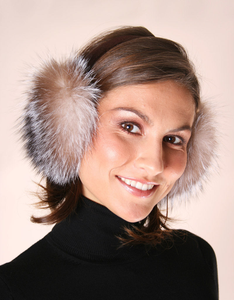 Velvet Band Fur Earmuff-E