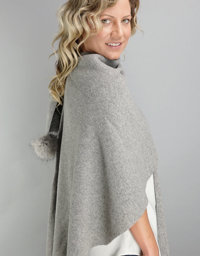 "Loop ""Pull Thru""  Wrap - Grey"