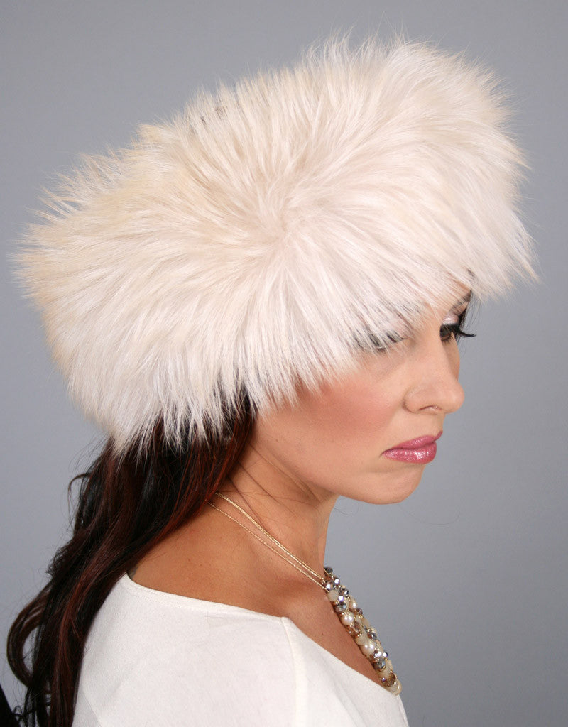 Wide Fur Headband-E