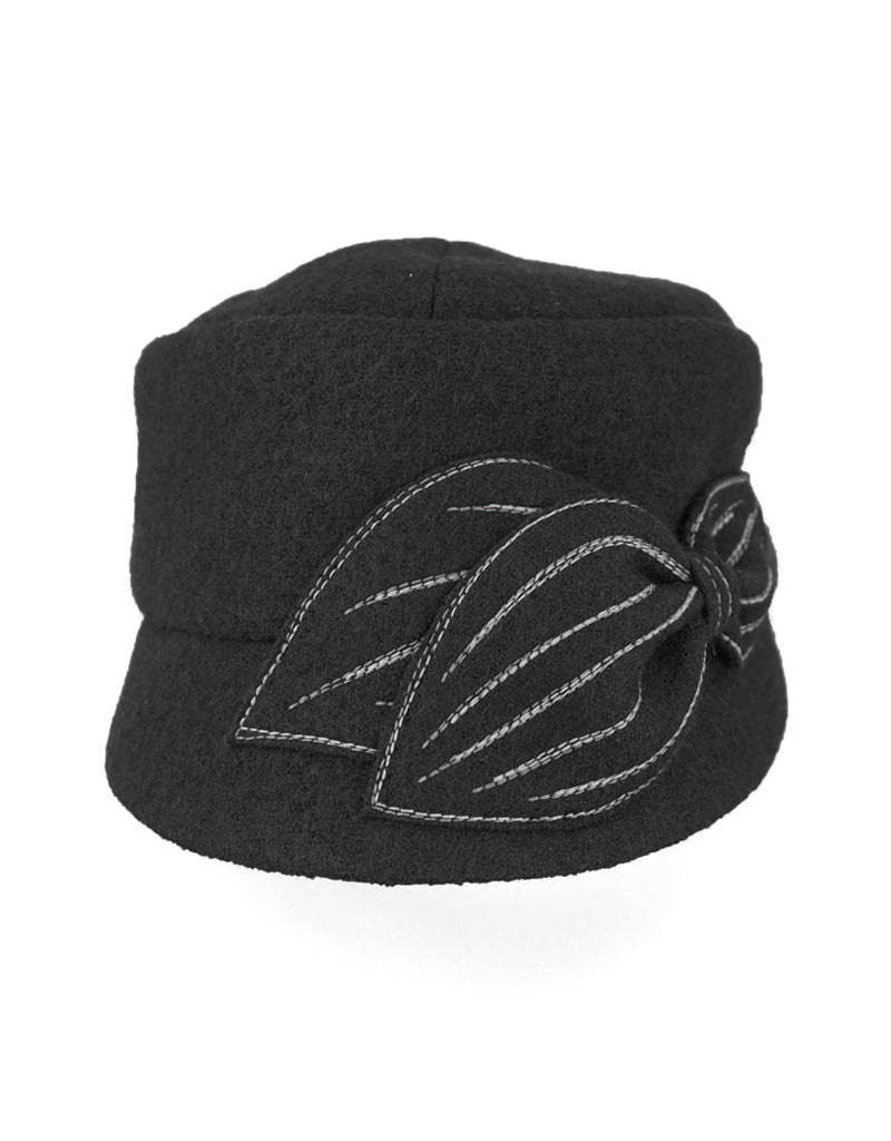 Mao Now - Lillie Cohoe / Boiled Wool Hat - Black