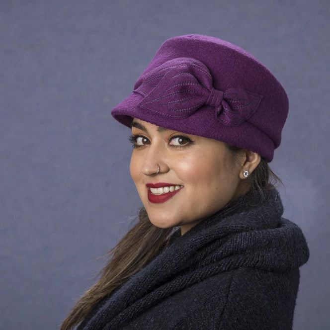 Mao Now - Lillie Cohoe / Boiled Wool Hat - Taupe