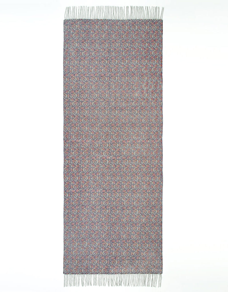 Cashmere Shawl-Mulberry